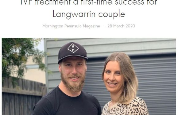 IVF treatment a first-time success for Langwarrin couple